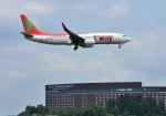 mojioさんが、成田国際空港で撮影したティーウェイ航空 737-8KGの航空フォト(写真)