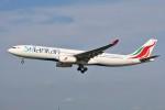 YASKYさんが、成田国際空港で撮影したスリランカ航空 A330-343Xの航空フォト(写真)