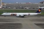 Bulu minさんが、羽田空港で撮影したルフトハンザドイツ航空 A340-642Xの航空フォト(写真)