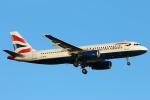 安芸あすかさんが、ロンドン・ヒースロー空港で撮影したブリティッシュ・エアウェイズ A320-232の航空フォト(写真)