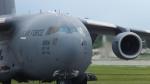 ANASNAさんが、嘉手納飛行場で撮影したアメリカ空軍 C-17A Globemaster IIIの航空フォト(写真)