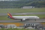 meijeanさんが、成田国際空港で撮影したアシアナ航空 A321-231の航空フォト(写真)