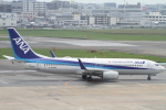 NAC 稜大さんが、福岡空港で撮影した全日空 737-881の航空フォト(写真)