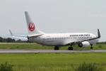 NAC 稜大さんが、熊本空港で撮影した日本航空 737-846の航空フォト(写真)