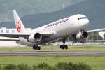 NAC 稜大さんが、熊本空港で撮影した日本航空 767-346の航空フォト(写真)
