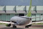 NAC 稜大さんが、熊本空港で撮影したソラシド エア 737-86Nの航空フォト(写真)