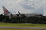 NAC 稜大さんが、熊本空港で撮影したチャイナエアライン 737-8FHの航空フォト(写真)