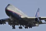 senyoさんが、成田国際空港で撮影したユナイテッド航空 747-422の航空フォト(写真)