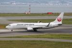 徳兵衛さんが、関西国際空港で撮影した日本航空 737-846の航空フォト(写真)