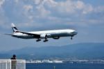 we love kixさんが、関西国際空港で撮影したキャセイパシフィック航空 777-367の航空フォト(写真)