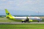 kitayocchiさんが、新千歳空港で撮影したジンエアー 737-8SHの航空フォト(写真)