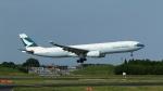 raichanさんが、成田国際空港で撮影したキャセイパシフィック航空 A330-342Xの航空フォト(写真)