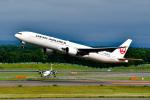 パンダさんが、新千歳空港で撮影した日本航空 777-346の航空フォト(写真)