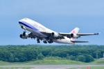 パンダさんが、新千歳空港で撮影したチャイナエアライン 747-409の航空フォト(写真)