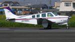 航空見聞録さんが、八尾空港で撮影した日本個人所有 B36TC Bonanzaの航空フォト(写真)