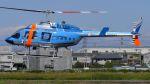 航空見聞録さんが、八尾空港で撮影した宮崎県警察 206L-3 LongRanger IIIの航空フォト(写真)