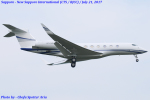 Chofu Spotter Ariaさんが、成田国際空港で撮影したExecuJet Europe AG G650 (G-VI)の航空フォト(写真)