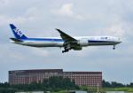 mojioさんが、成田国際空港で撮影した全日空 777-381/ERの航空フォト(写真)