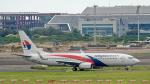 2wmさんが、台湾桃園国際空港で撮影したマレーシア航空 737-8H6の航空フォト(写真)