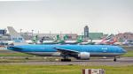 2wmさんが、台湾桃園国際空港で撮影したKLMオランダ航空 777-206/ERの航空フォト(写真)
