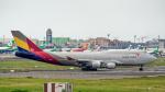 2wmさんが、台湾桃園国際空港で撮影したアシアナ航空 747-48EM(BDSF)の航空フォト(写真)