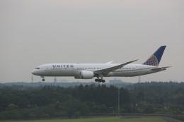 meijeanさんが、成田国際空港で撮影したユナイテッド航空 787-9の航空フォト(写真)