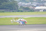 ja0hleさんが、名古屋飛行場で撮影した茨城県防災航空隊 BK117C-2の航空フォト(写真)