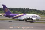 けいとパパさんが、成田国際空港で撮影したタイ国際航空 A380-841の航空フォト(写真)