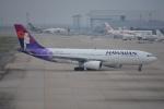 SKY☆101さんが、関西国際空港で撮影したハワイアン航空 A330-243の航空フォト(写真)