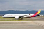 sg-driverさんが、関西国際空港で撮影したアシアナ航空 A350-941XWBの航空フォト(写真)
