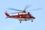 トリトンブルーSHIROさんが、庄内空港で撮影した山形県消防防災航空隊 AW139の航空フォト(写真)