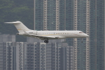 sumihan_2010さんが、香港国際空港で撮影したユタ銀行 BD-700 Global Express/5000/6000の航空フォト(写真)