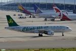 妄想竹さんが、関西国際空港で撮影した春秋航空 A320-214の航空フォト(写真)