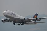 たかきさんが、関西国際空港で撮影したルフトハンザドイツ航空 747-430の航空フォト(写真)