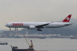 sumihan_2010さんが、香港国際空港で撮影したスイスインターナショナルエアラインズ 777-3DE/ERの航空フォト(写真)
