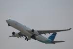 たかきさんが、関西国際空港で撮影したガルーダ・インドネシア航空 A330-343Xの航空フォト(写真)