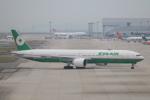 たかきさんが、関西国際空港で撮影したエバー航空 777-36N/ERの航空フォト(写真)