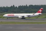 sumihan_2010さんが、成田国際空港で撮影したスイスインターナショナルエアラインズ A340-313Xの航空フォト(写真)