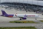 神宮寺ももさんが、関西国際空港で撮影した香港エクスプレス A321-231の航空フォト(写真)