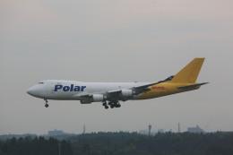 meijeanさんが、成田国際空港で撮影したポーラーエアカーゴ 747-46NF/SCDの航空フォト(写真)
