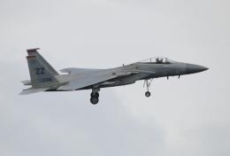 Koenig117さんが、嘉手納飛行場で撮影したアメリカ空軍 F-15C-34-MC Eagleの航空フォト(写真)