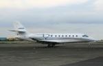 スポット110さんが、羽田空港で撮影したノエビア 680 Citation Sovereignの航空フォト(写真)