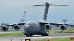 kamerajiijiさんが、岩国空港で撮影したアメリカ空軍 C-17A Globemaster IIIの航空フォト(写真)