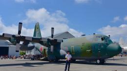 パンダさんが、千歳基地で撮影した航空自衛隊 C-130H Herculesの航空フォト(写真)