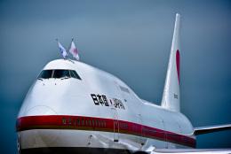 パンダさんが、千歳基地で撮影した航空自衛隊 747-47Cの航空フォト(写真)