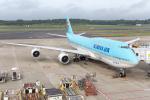 Y-Kenzoさんが、成田国際空港で撮影した大韓航空 747-8B5の航空フォト(写真)