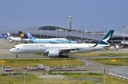 kix-boobyさんが、関西国際空港で撮影したキャセイパシフィック航空 A350-941XWBの航空フォト(写真)