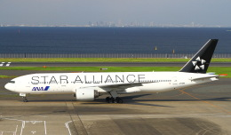 sommaさんが、羽田空港で撮影した全日空 777-281の航空フォト(写真)