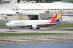 utarou on NRTさんが、那覇空港で撮影したアシアナ航空 767-38Eの航空フォト(写真)