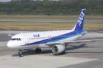 プルシアンブルーさんが、熊本空港で撮影した全日空 A320-211の航空フォト(写真)